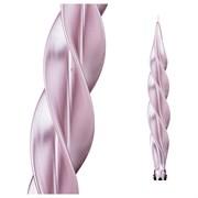 "Свеча ""Моцарт"" металлик розовый H=32 см"