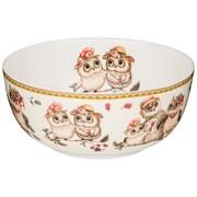 """Салатник - тарелка суповая lefard  """"Owls party"""" 15 см"""