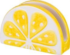 """Салфетница """"Лимон"""" 15*5*10 см"""
