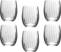 """Набор стаканов для виски """"Waterfall"""" из 6  шт 300 мл H=10 см"""