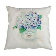 Декоративная подушка 35х35 см, полиэстер 100%