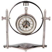 Часы кварцевые настольные 12*6*13 см циферблат 5 см