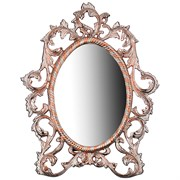 """Зеркало настольное """"Rosso"""" 31*3 см H=40 см латунь"""