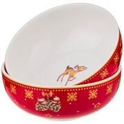 "Набор розеток ""Christmas collection"", D=10 см"