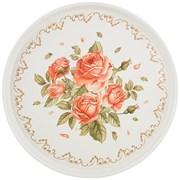 """Поднос сервировочный agness """"Корейская роза"""" 33*2,1 см"""