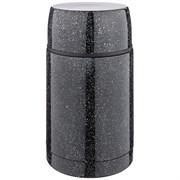 Термос agness с широким горлом и крышкой-чашкой, 750мл, колба нжс