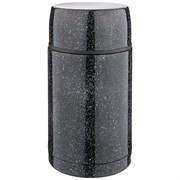 Термос agness с широким горлом и крышкой-чашкой, 1000 мл , колба нжс