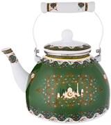 Чайник agness  эмалированный, серия сура 4 л