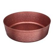 "Форма agness премиум ""Red queen"" круглая  24x7 см трехслойное покр granit, pfoa free"