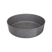 "Форма agness премиум ""Grace""  круглая  24x7 см трехслойное покр granit, pfoa free"