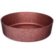 "Форма agness премиум ""Red queen"" круглая 28x8 см трехслойное покр granit, pfoa free"