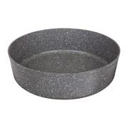 "Форма agness премиум ""Grace""  круглая  28x8 см трехслойное покр granit, pfoa free"