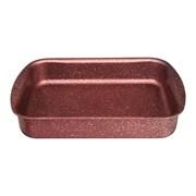 """Форма agness премиум """"Red queen"""" прямоугольная 30х22x6 см , трехслойное покр granit, pfoa free"""