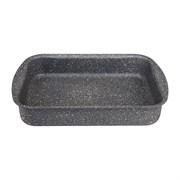 "Форма agness премиум ""Grace""  прямоугольная 30х22x6 см , трехслойное покр granit, pfoa free"