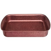 """Форма agness премиум """"Red queen""""  прямоугольная 35х26x6,5 см , трехслойное покр granit, pfoa free"""