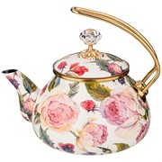 Чайник эмалированный agness, серия винтаж, 2,2л