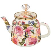 Чайник эмалированный agness, серия винтаж, 1,0л H=17 см