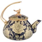 Чайник agness эмалированный, серия ренессанс 2,2л подходит для индукцион.плит