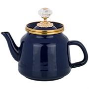 Чайник agness эмалированный, серия тюдор 1,0 л,