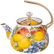 Чайник эмалированный agness, серия фландрия  3,0л