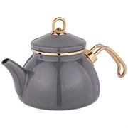 Чайник agness эмалированный, серия deluxe, 1,1л, подходит для индукции