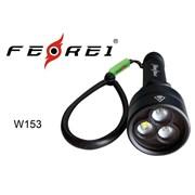 Фонарь для дайвинга Ferei W153 1хCREE XM-L (Cool White) 2xCREE XP-E (Red) (W153V20)
