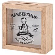 "Копилка для мужчин ""Barbershop"" 15*5*15 см"