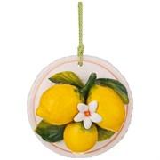"""Панно настенное """"Лимоны"""" D=14 см"""