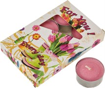 """Набор плавающих свечей из 6  шт """"Орхидеи"""""""
