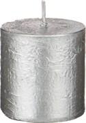 Свеча 5/5 см серебрянная