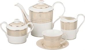 Чайный сервиз на 6 персон 15 пр. 1400/280/390/400 мл