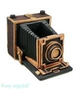 Подставка для ручек «Фотоаппарат», 14x11x10 см