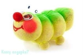 ЭкоЖивчик в подарочной упаковке «Гусеница», 16х9х9 см