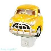 """Ночник """"Автомобиль"""", 9х6х9 см, жёлтый"""