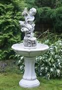 Садовый фонтан «Амур с морскими раковинами»