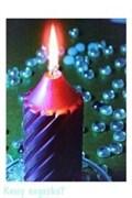Картина с подсветкой «Свеча», 30х40 см