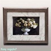 Ключница настенная «Белые розы», 28.5x23.5 см
