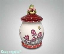 Банка «Влюблённые лягушки»