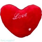 """Подушка декоративная сердце """"Love"""", 30х26х10 см, 002"""