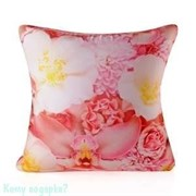 Подушка декоративная «Розовые орхидеи», 30х30х12 см