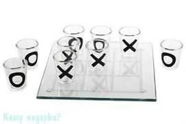 """Игра """"Пьяные крестики-нолики"""", 12x12 см"""