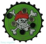 Игра-развлечение к пиву «Магнитная мишень для пивных пробок», 25x25 см