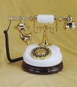 """Ретро телефон """"Принцесса"""", оникс, 27х20х22,5 см"""