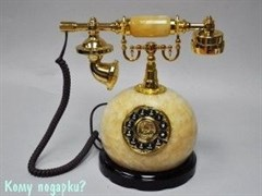 Телефон кнопочный «Нардин», оникс