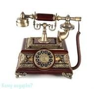 Телефон ретро, 27х24х27 см