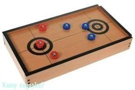 Игра настольная «Керлинг», 40x23x6см