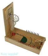 Игра настольная «Пинбол-баскетбол», 36x18x6см