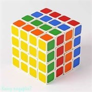 Кубик Рубик 4х4, пластик, 6х6 см