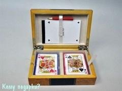 Набор для игры в карты, 18х12х4 см