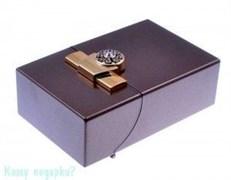 Портсигар, 9,5x6x3 см, бронза, золото